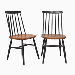 Mid-Century Dining Chairs by Ilmari Tapiovaara, 1960s, Set of 2