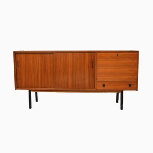 Mid-Century Sideboard with Sliding Door, 1960s