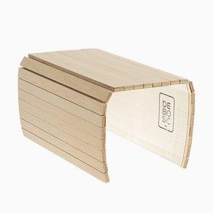 Bandeja NEW DETRAY flexible de madera de arce de Debosc
