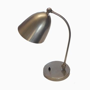 Lámpara de mesa Bauhaus de Christian Dell para Le Phare, años 40