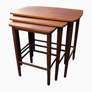 Mid-Century Danish Modern Nesting Tables