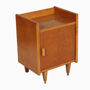 Art Deco Walnut Nightstand by Gio Ponti for La Permanente Mobili Cantù, 1940s