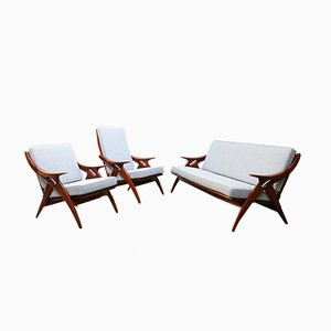 De Knoop Living Room Set from De Ster Gelderland, 1960s