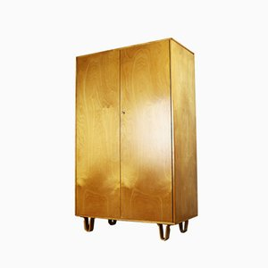 KB03 Birch Series Cabinet by Cees Braakman for UMS Pastoe, 1950s