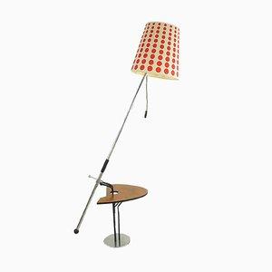 Lámpara de pie vintage de Zootechnika, años 60
