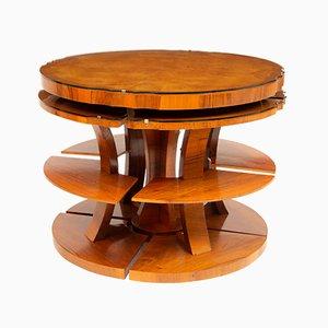 Tavolini ad incastro Art Déco di Harry & Lou Epstein, anni '30