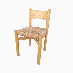 Vintage Meribel Stuhl von Charlotte Perriand für Steph Simon, 1960er