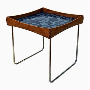 Table Conform avec Plateau en Émail par Hermann Bongard pour Plus - Norway Designs, Norvège, 1962