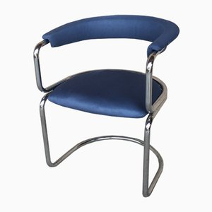 Chrome Side Chair from Zougoise Victoria, 1970s
