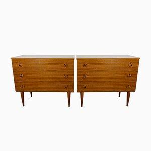 Vintage Dressers, 1960s, Set of 2