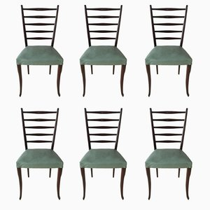 Vintage Dining Chairs by Gio Ponti, 1950s, Set of 6