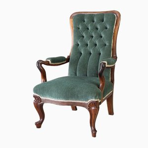 Antique Rosewood Armchair