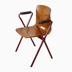 Mid-Century Thur Op Seat Chair by Adam Stegner for Pagholz Flötotto