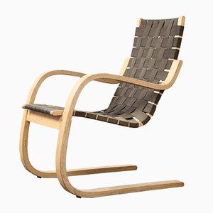 Poltrona modelo 406de Alvar Aalto para Artek, años 70