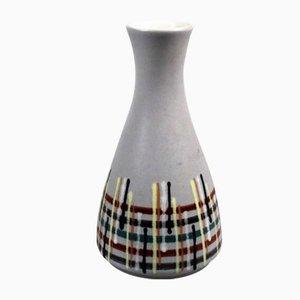 Diabolo Vase mit Linienmuster von Dumler & Breiden, 1960er