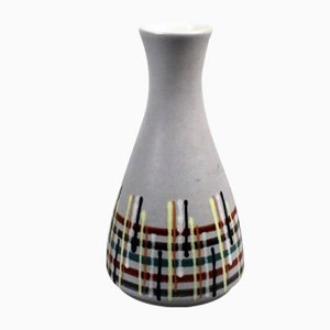 Diabolo Vase with Line Pattern from Dumler & Breiden, 1960s