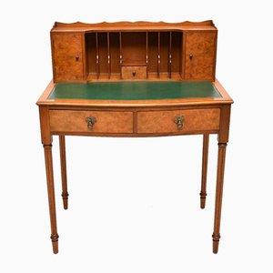 Vintage Bonheur De Jour Schreibtisch aus Nussholz