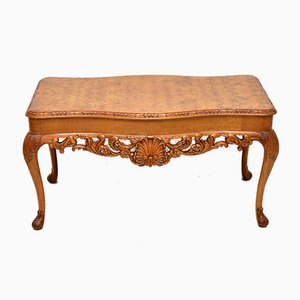 Vintage Burr Walnut Coffee Table