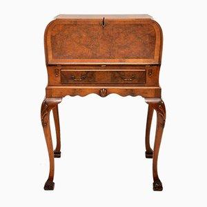 Vintage Schreibtisch aus Nusswurzel auf Beinen