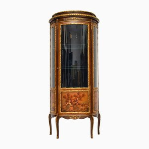 Vintage French Ormolu Mounted Display Cabinet