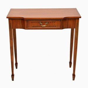 Vintage Mahogany Console Table