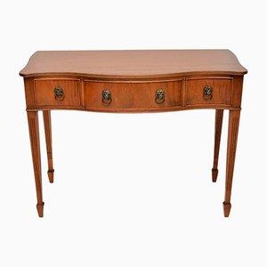 Table de Service avec Devanture Vintage en Acajou