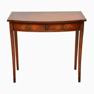Vintage Regency Style Mahogany Console Table