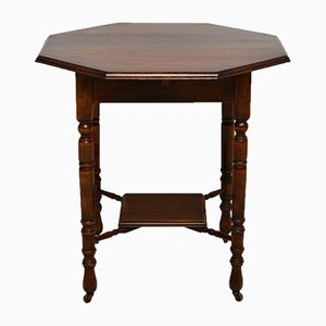 Antique Victorian Mahogany Occasional Table