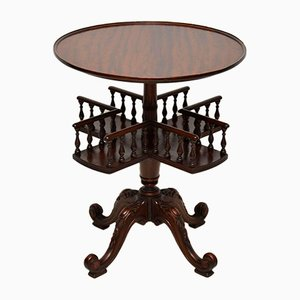 Vintage Victorian Style Mahogany Occasional Table
