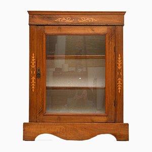 Mueble victoriano antiguo de nogal