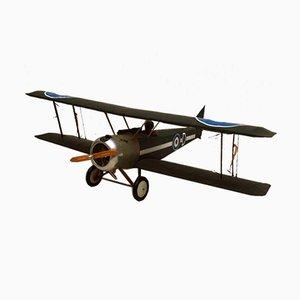 Vintage RAF Model Fighter Biplane