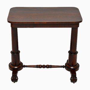 Antique William IV Rosewood Side Table