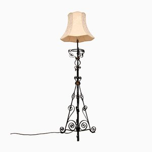 Antique Wrought Iron Telescopic Lamp