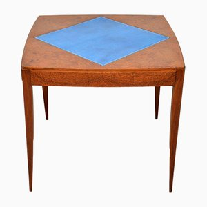 Art Deco Amboyna Card Table