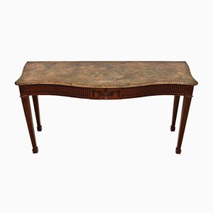 Vintage Georgian Style Mahogany Console Table