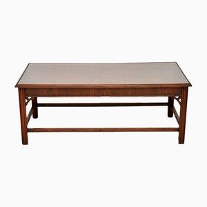 Table Basse Vintage en Acajou