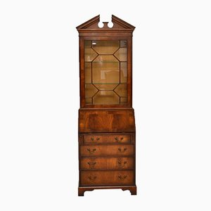 Vintage Mahogany Bureau Bookcase