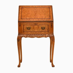 Vintage Burr Maple Writing Bureau