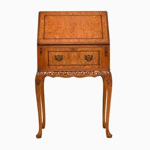 Vintage Schreibtisch aus Ahorn-Wurzelholz