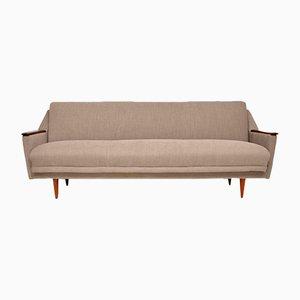 Sofá cama danés vintage, años 50
