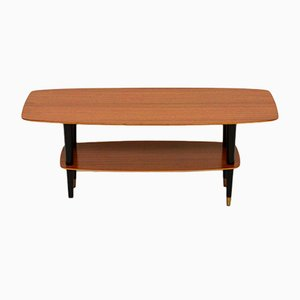 Vintage Teak Coffee Table, 1950s