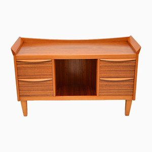 Vintage Walnut Sideboard or Drinks Cabinet, 1950s