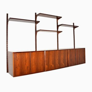 Danish Rosewood Royal Shelving System by Poul Cadovius, 1960s