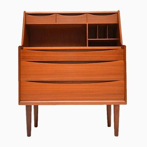 Danish Teak Bureau or Dressing Table by Arne Vodder, 1960s