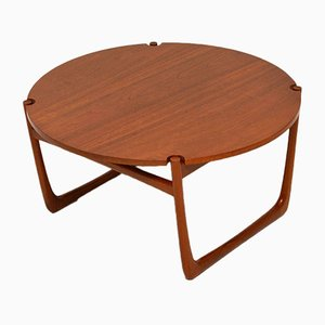 Danish Teak Coffee Table by Peter Hvidt & Orla Mølgaard-Nielsen, 1960s