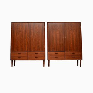Danish Rosewood Cabinet by Borge Mogensen for Brouer, 1960s