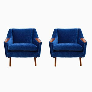 Vintage Armchairs by Illum Wikkelso for Westnofa, 1960s, Set of 2