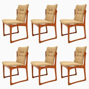 Vintage Danish Teak Dining Chairs from Vamdrup Stolefabrik, 1960s, Set of 6
