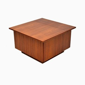 Danish Rosewood Coffee Table or Storage Chest, 1960s
