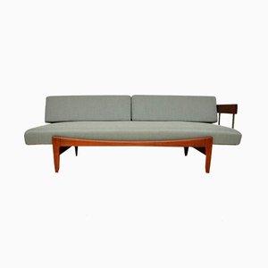 Dänisches Vintage Tagesbett aus Teak von Ib Kofod-Larsen für Seffle Mobelfabrik, 1960er